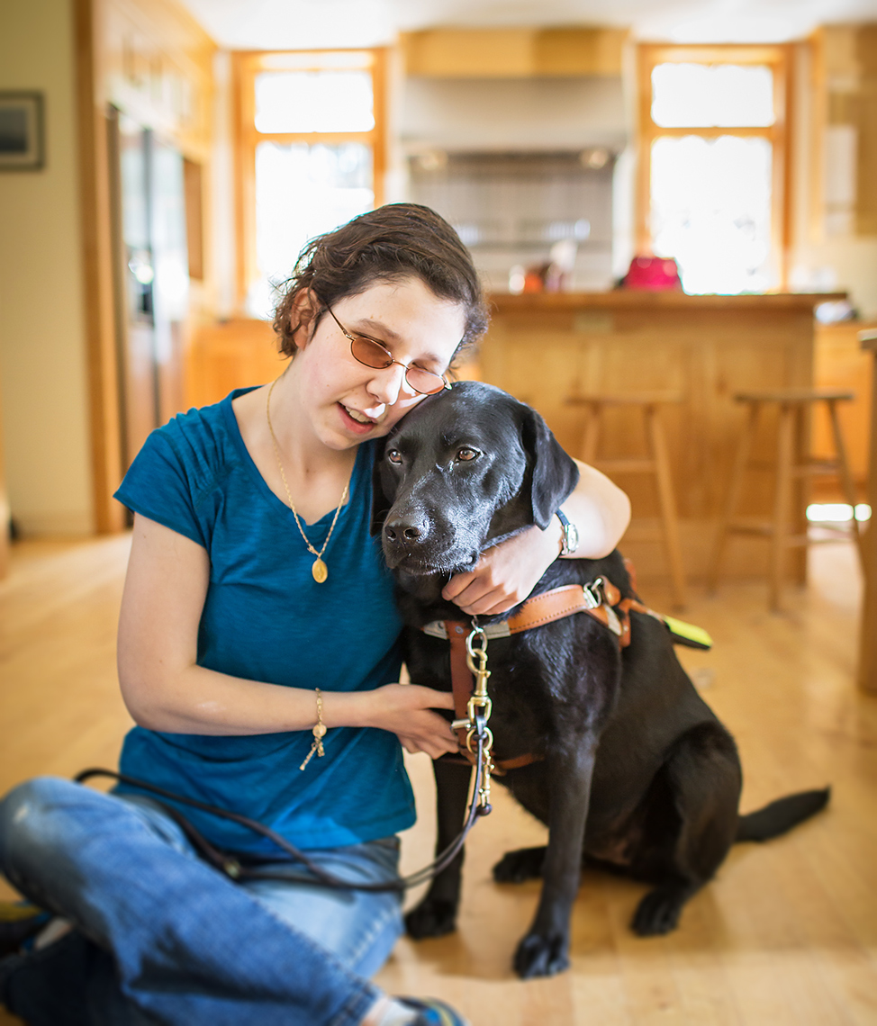 Service-Dog-with-Blind-Owner